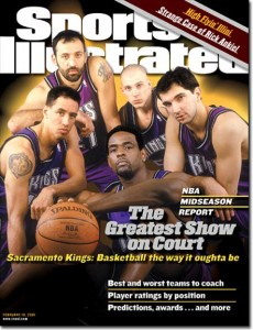I Kings del 2001 sulla copertina di Sports Illustrated
