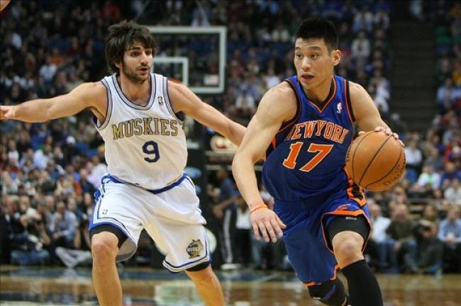 Jeremy Lin vs Ricky Rubio