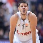 Bostjan Nachbar, 20 punti nella vittoria contro il Rio Natura.