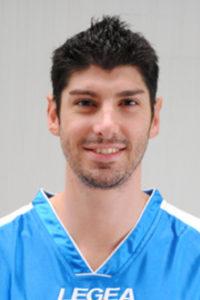 Marco Allegretti: ha lottato su ogni pallone, ma non sono bastati i suoi 27 punti per evitare la sconfitta di Napoli.