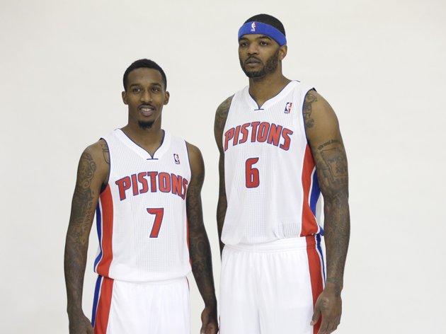 Brandon Jennings e Josh Smith, i nuovi acquisti principali dei Pistons
