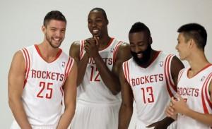 """I """"Big Four"""" dei Rockets, un bel nucleo sul quale McHale potrà lavorare"""