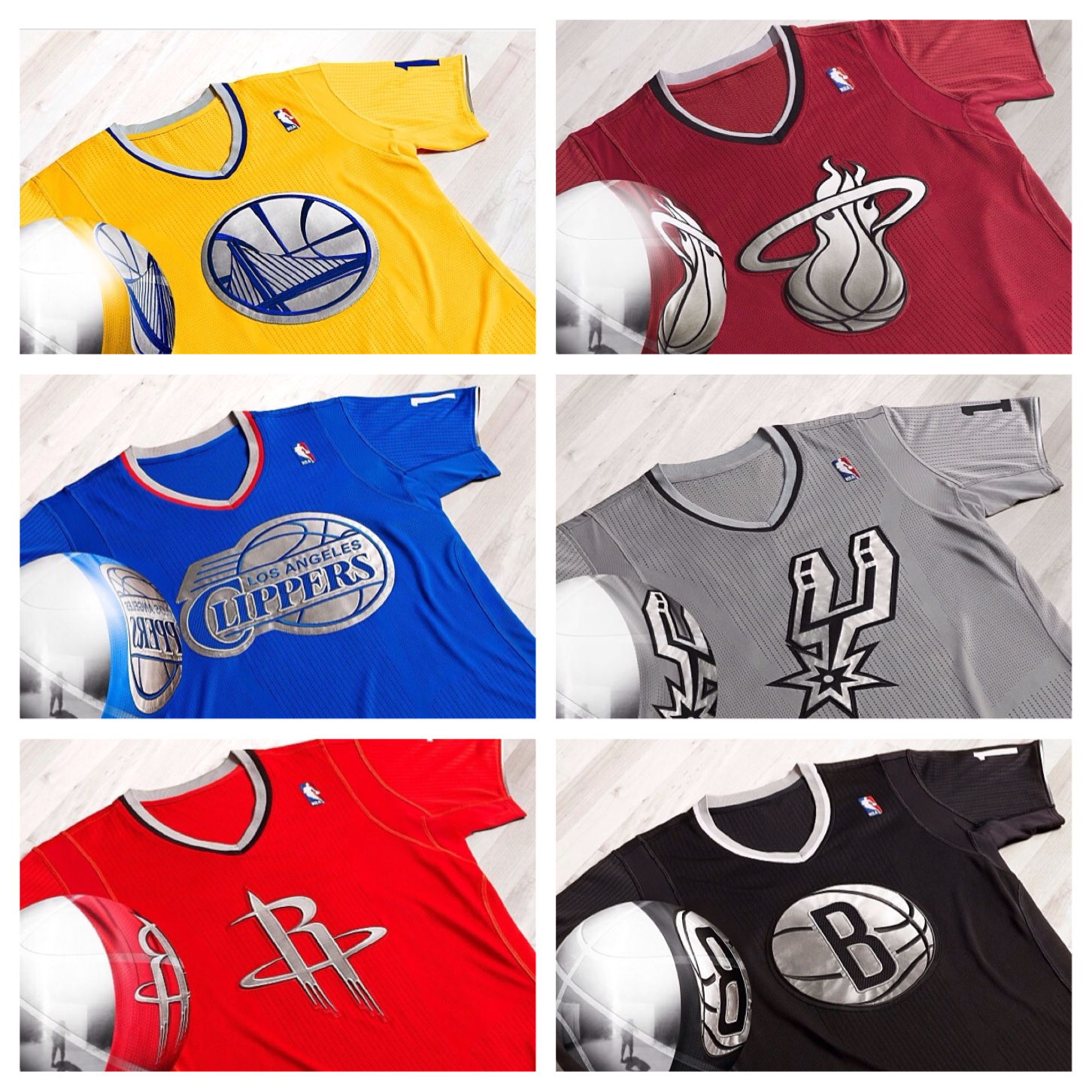 Finally, NBA's Christmas Uniforms Find Comfort And Joy