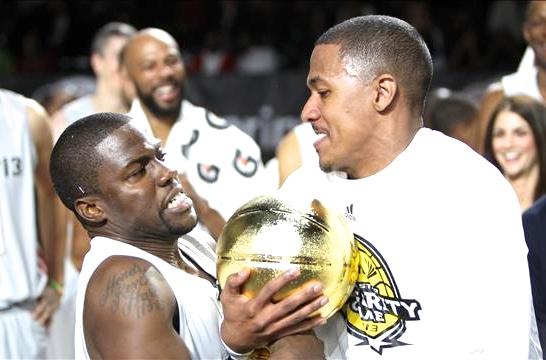 Kevin hart celebrity basketball game 2019