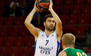 Kostas Vasileiadis, decisivi i suoi punti nel terzo quarto