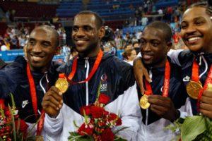 Assieme a Bryant, Wade ed Anthony, i co-capitani della nazionale statunitense