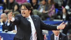 Andrea Trinchieri, coach del Bamberg.