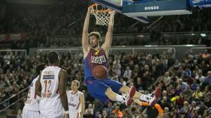 Ante Tomic:la sua collezionine di palme di MVP del match continua a crescere.