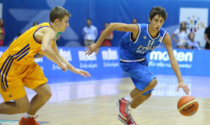 Davide Moretti: con la maglia azzurra, ha già dimostrato grandi doti