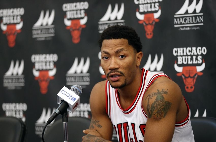 Derrick Rose Chicago Bulls NBA