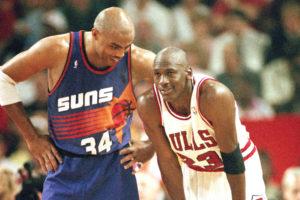 Barkley e Jordan insieme; sono stati draftati nella stessa notte.