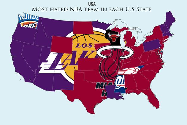 most hated nba teams