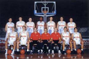 Il roster della Bologna del Grande Slam
