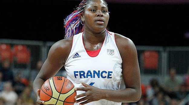 I. Yacoubou con la nazionale francese