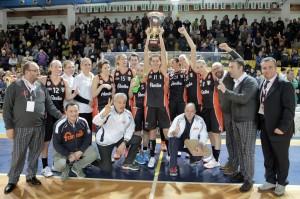 Schio festeggia la vittoria per la Coppa Italia 2014