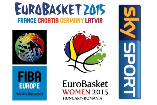 Il tabellone di SKY per l'Europeo Donne 2015