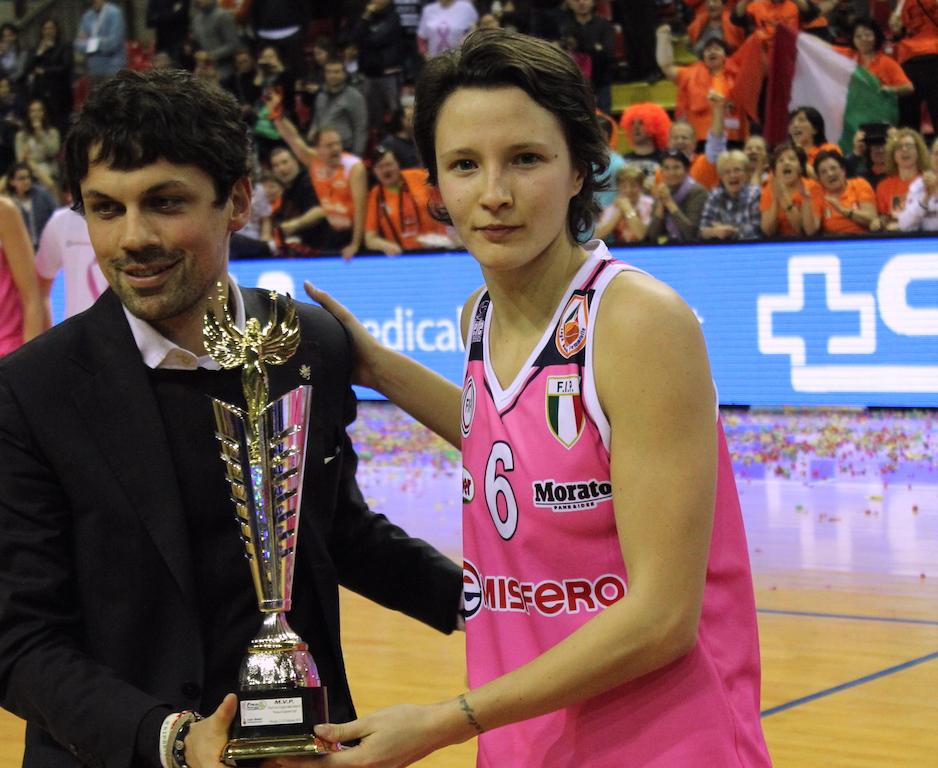 G. Sottana premitata MVP della finale Coppa Italia 2015