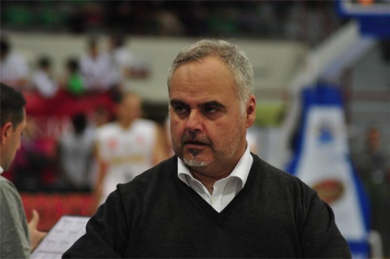 Franco Ciani, allenatore della Fortitudo Agrigento (agrigentosport.com)