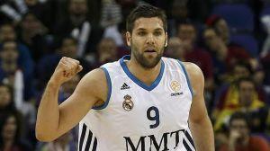 """Felipe Reyes, top scorer madrileno, è uscito per falli. Al suo posto è entrato """"illegalmente"""" Slaughter."""