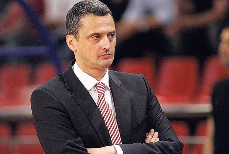 Dejan Radonjic, coach della Stella Rossa.