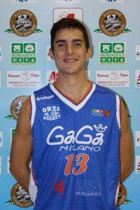 Matteo Martini è un nuovo acquisto del Basket Ravenna (basketravenna.it).