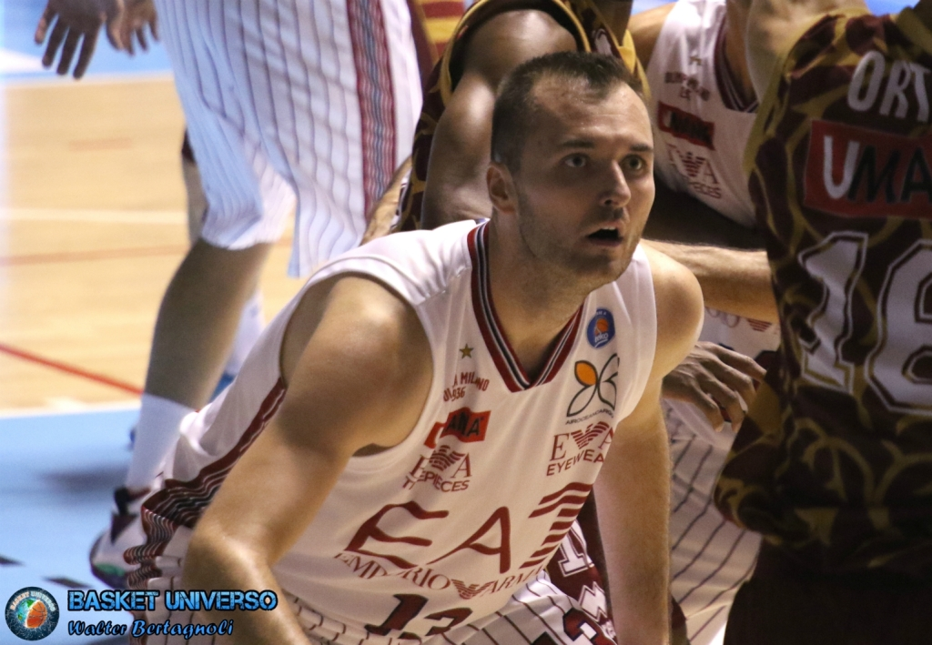 Milan Macvan è l'MVP del match contro Trento.