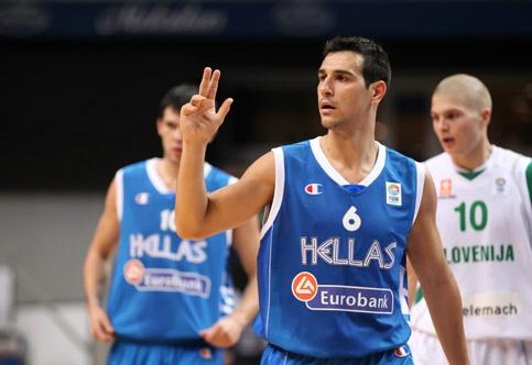 Zisis, uno dei migliori in maglia Grecia
