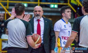 Coach Ticchi (Imola) oggi espulso per invasione di campo