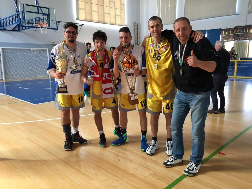 I campioni pesaresi si godono la Coppa Italia