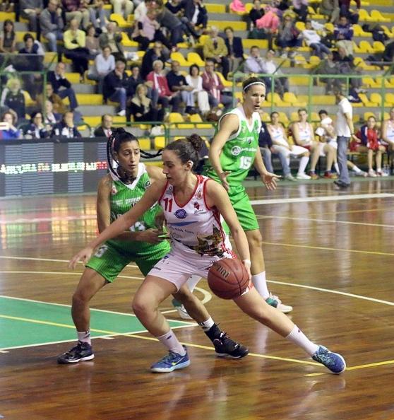 E. Reggiani in azione con Lucca