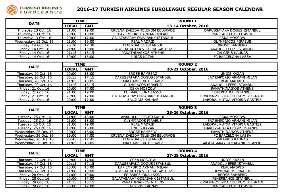 Calendario Milano.Calendario Olimpia Milano Calendario 2020