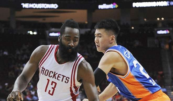 shanghai sharks houston rockets