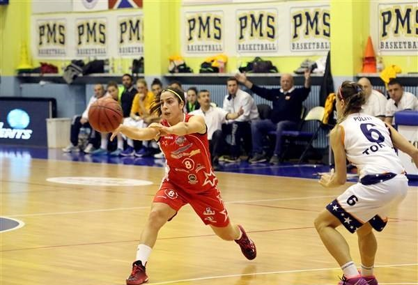F. Dotto, playmaker del basket Lucca