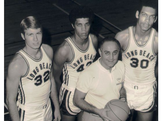 Coach Tarkanian ai tempi di Long Beach