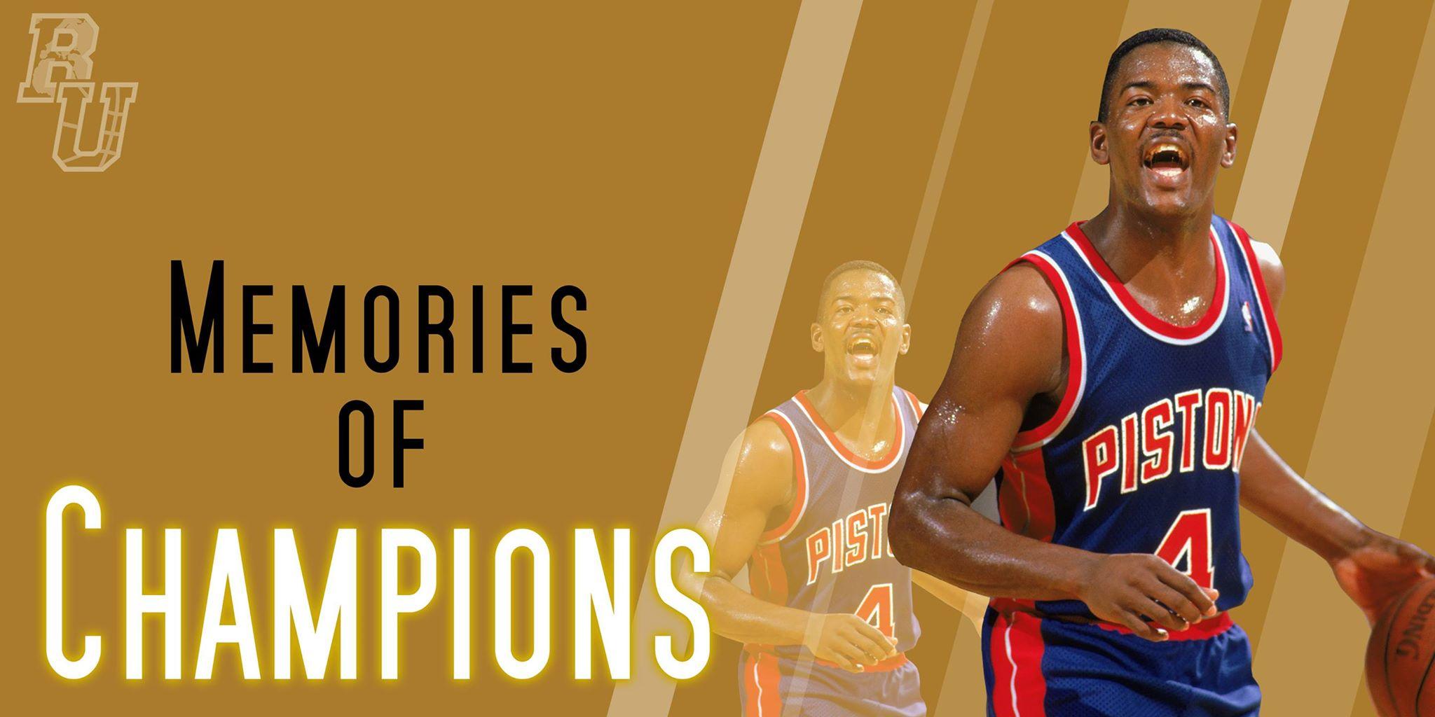 I Pistons non sarebbero nessuno senza Joe Dumars