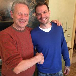 Paul Baccaglini con Maurizio Zamparini (rtl.it)