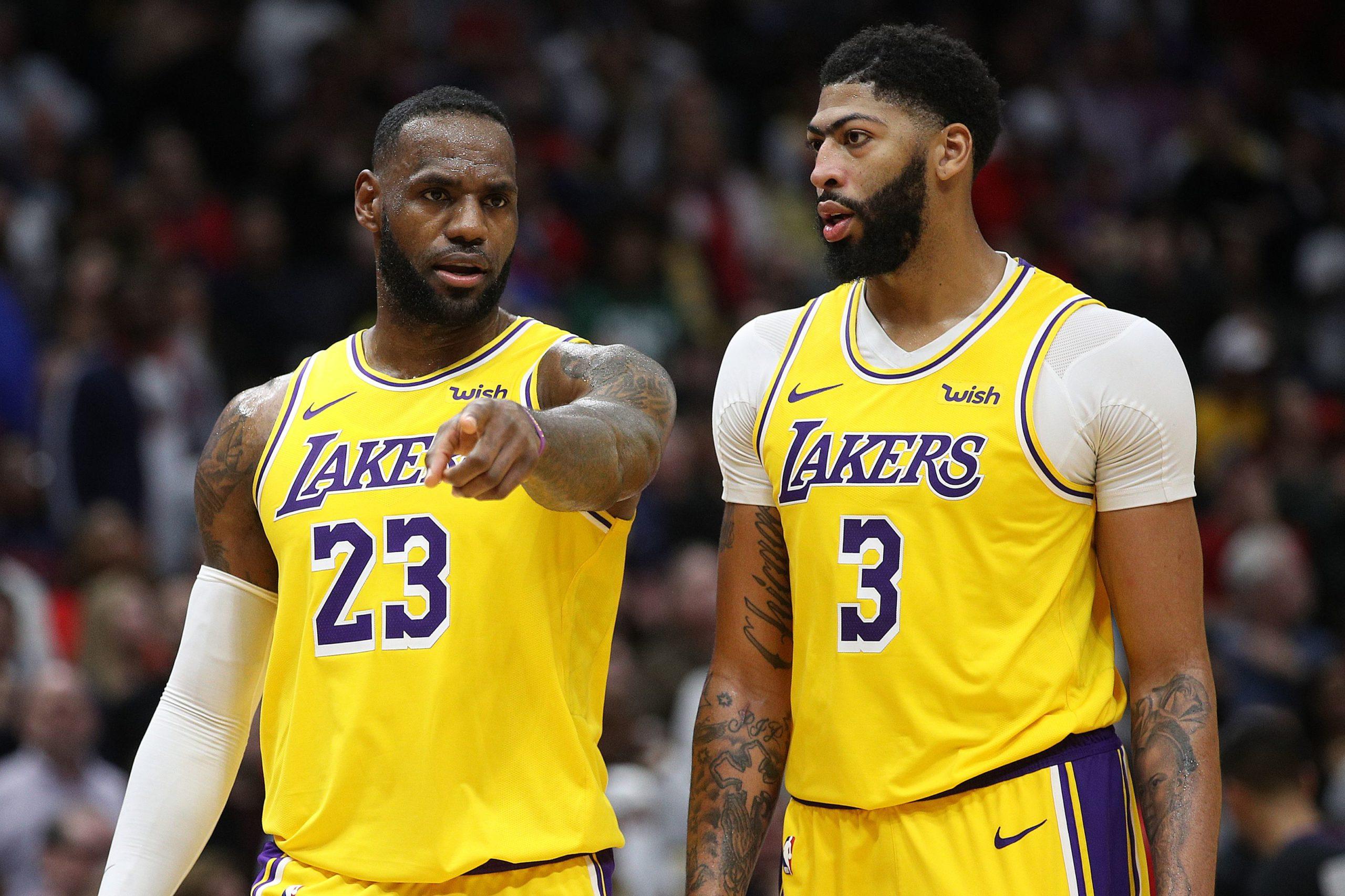 Los Angeles Lakers, buone notizie dall'infermeria