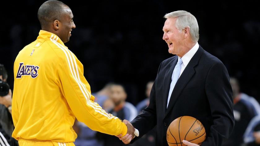 NBA Jerry West mano