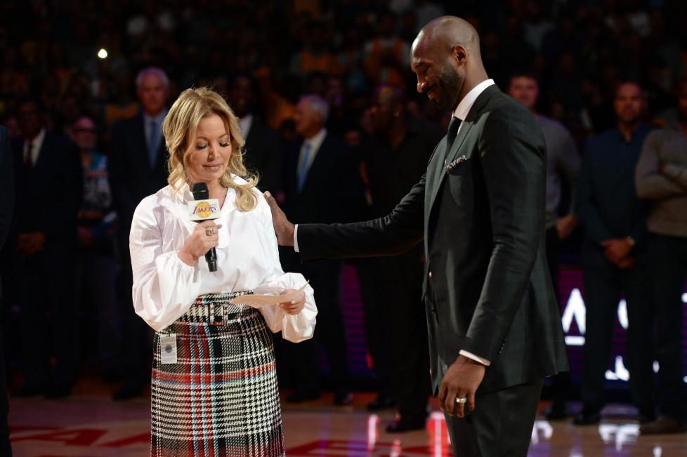 NBA Jeane Buss Kobe