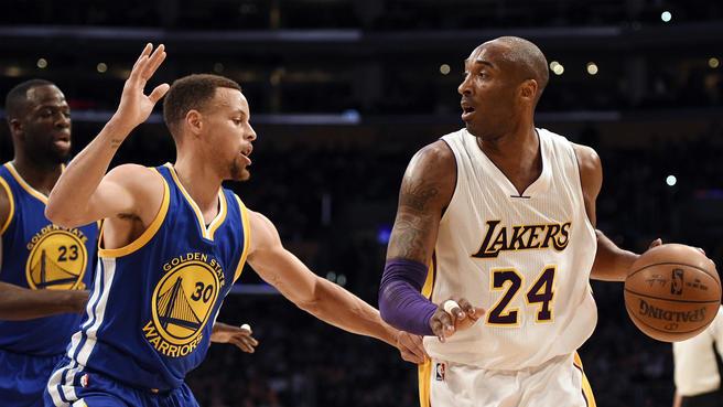 NBA Steph Curry Kobe Bryant