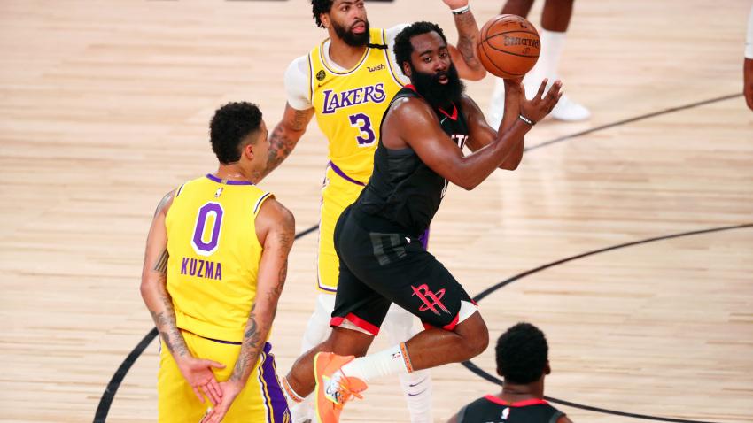 I Lakers senza LeBron perdono contro i Rockets di uno straripante ...