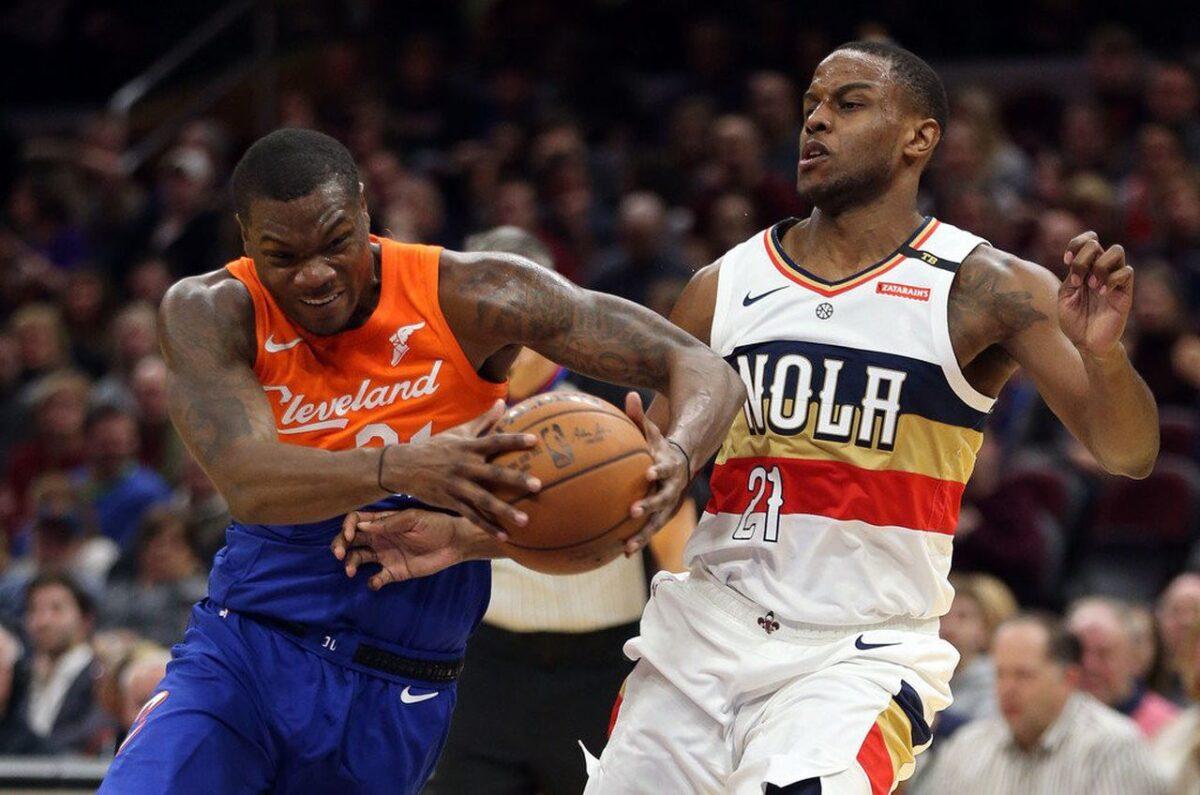 Jalen Jones coi Cleveland Cavaliers
