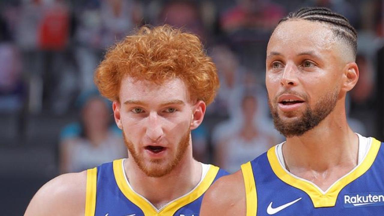 Steph Curry Nico Mannion NBA