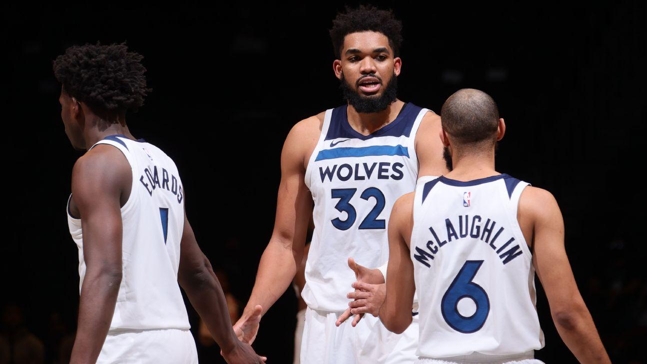 Towns ha visto il papà in un campo da basket dopo più di un anno in NBA