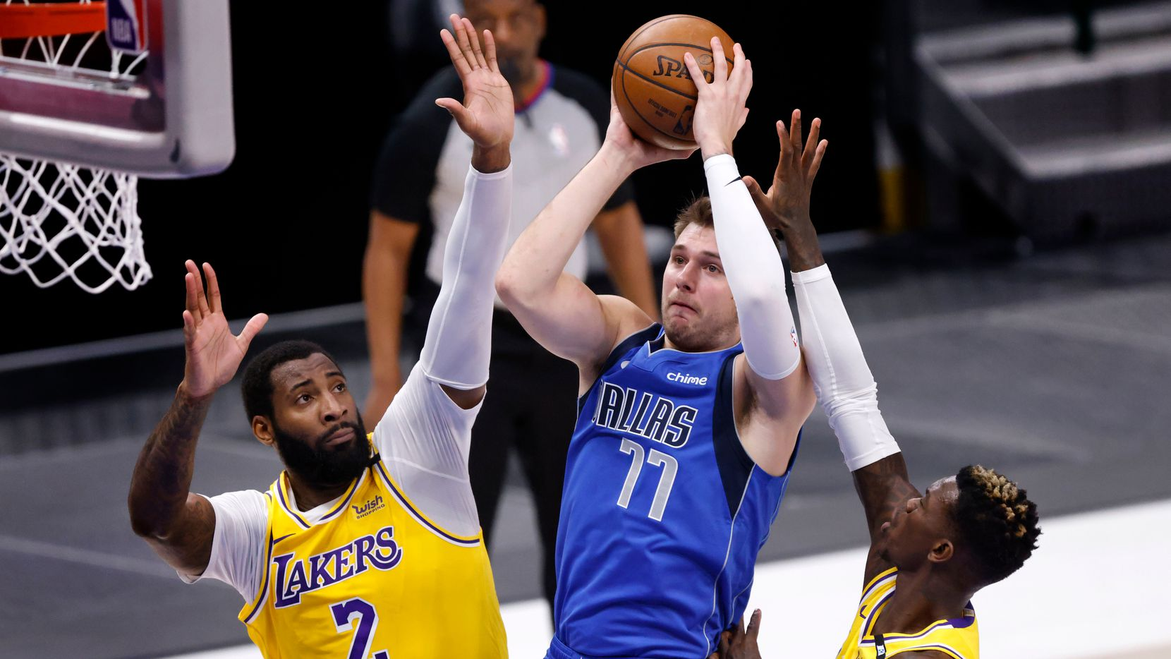 Doncic Dallas Lakers