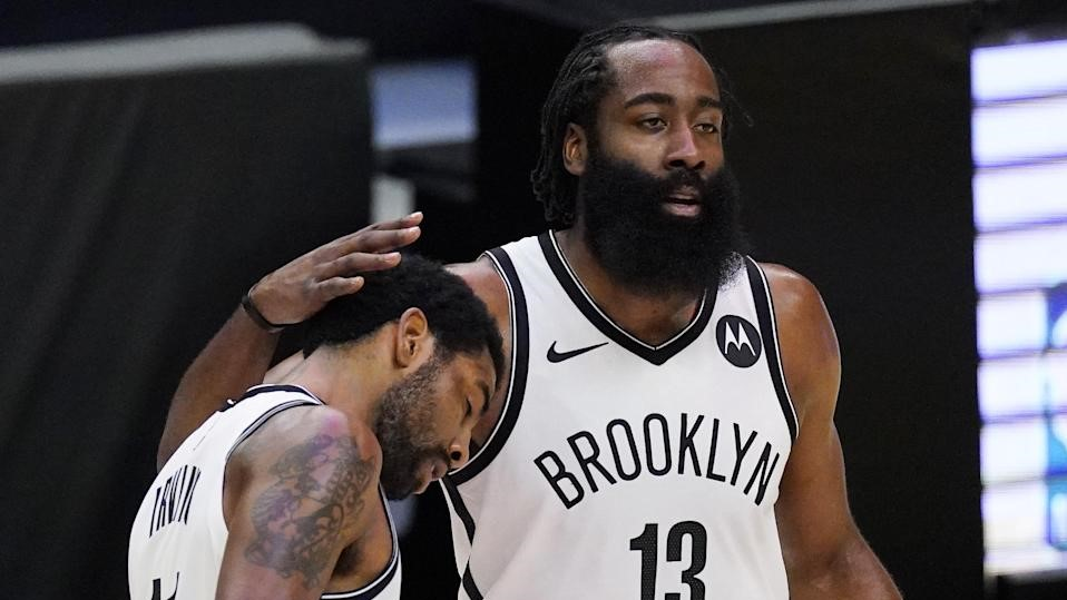 Irving james Harden playoff NBA