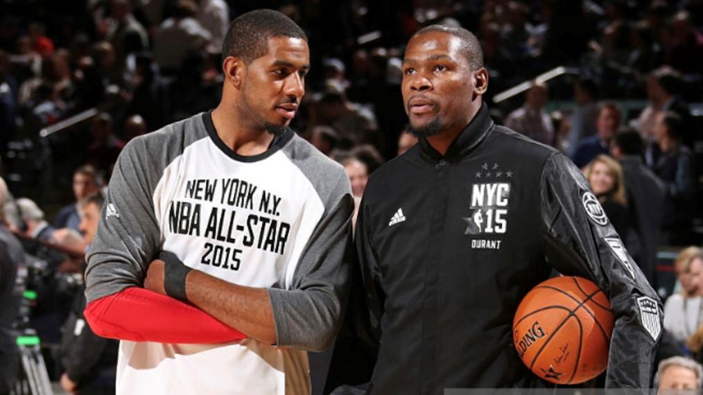 NBA Kevin Durant Aldridge