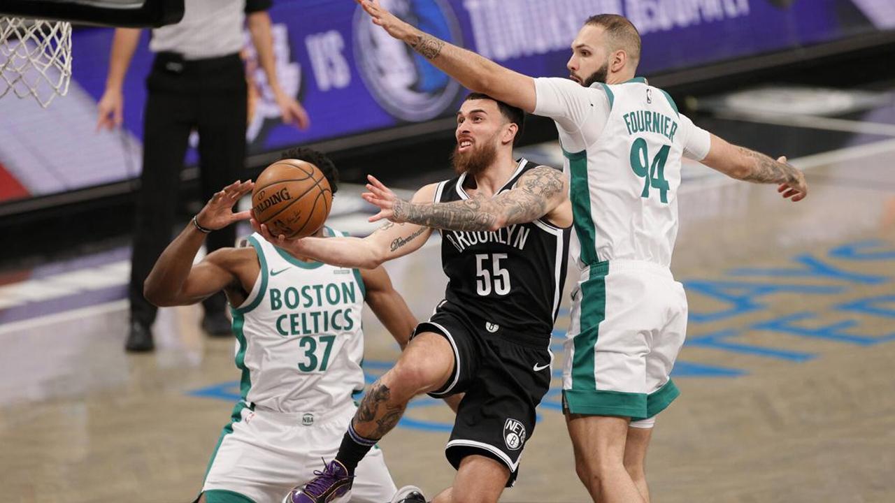 NBA Mike James Brooklyn