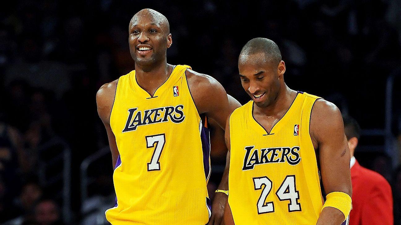 NBA Odom Kobe