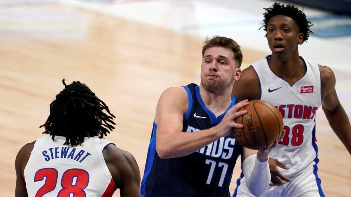 NBA doncic tripla doppia